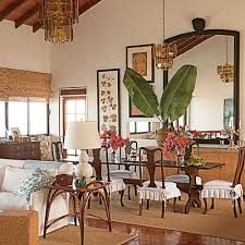 A Dining Room In St Kitts Sports West Indies Style