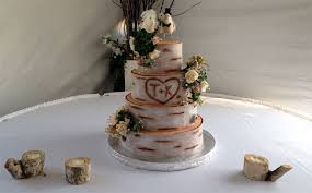 Simple Rustic Wedding Cakes