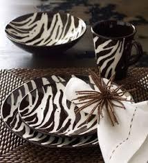 Zebra Kitchen Set For Brooke G And Jess S