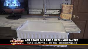 Rohl Fireclay Sink Cleaning by Liley Granite Farmhouse Sinks Youtube