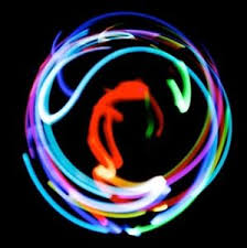 4 LED Orbit Orbital n Microlight Light Show Rave Kids