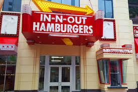 100 In N Out Burger Truck Behold The Menu At The Linq Eater Vegas