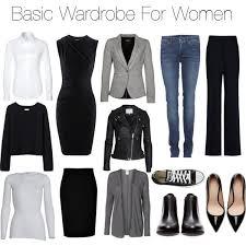 Gorgeous Wardrobe Clothes Women Capsule Basics Bedroom Full Version