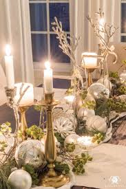 Christmas Dining Room Table Decorations Awesome Decor Ideas