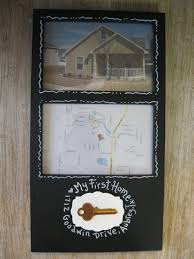 Custom Order Handpainted Frame Our First Home Or Apartment Anniversary Gift On Etsy