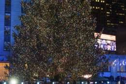 Rockefeller Christmas Tree Lighting 2017 by Rockefeller Christmas Tree Lighting Attracts Thousands Wtop