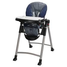Graco High Chair Blossom Video by Amazon Com Graco Contempo High Chair Midnight Baby