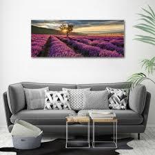 glas bild wandbilder druck auf glas 125x50 deko landschaften