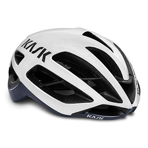 Kask Protone Helmet - White/Navy Blue - Large