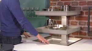 tote ecken in der küche sinnvoll nutzen quanto versenkbare ecke