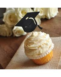 Graduation Cap Cupcake Toppers Ships In 1 3 Business Days Party Decor