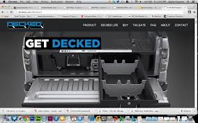 Website Launched To Showcase Truck Bed Storage System | Medium Duty ... 13 Nifty N New Products At Sema 2014 Motor Trend Help Us Test A Decked Truck Bed Storage System Page 7 Ford F150 Cooler Castrophotos Waterproof Box For Organizer Available 4wp And Abtl Auto Extras Ds3 851945005472 Ebay Drawer How I Built Out My Pickup Gearjunkie Decked Toyota Tacoma With Inbed