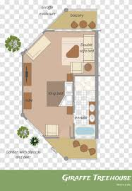 104 Tree House Floor Plan Room Home Transparent Png
