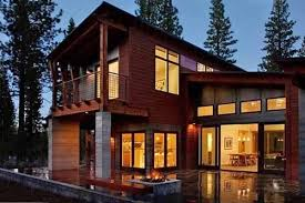 maison bois préfabriquée en montagne par studio sagemodern