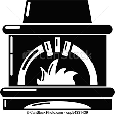 Blast Furnace Icon Simple Style