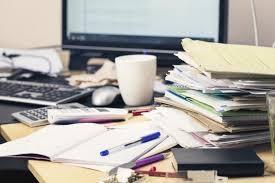 d après les chercheurs avoir un bureau mal rangé serait un signe de