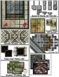 3d Dungeon Tiles Uk by Living Dungeon Tile Set Pdf By Complex 77 U2014 Kickstarter