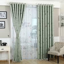 vorhänge für schlafzimmer blau grün muster blackout fenster behandlungen pastoralen vorhang küche haken fenster vorhang wohnzimmer