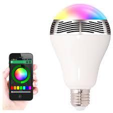 bluetooth smart speaker l echange led light cellphone