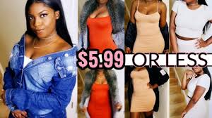 5 clothes sis affordable clothing haul 599 fashion youtube