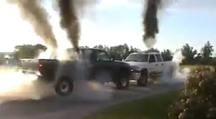 The Opposite Of A Truck Tug Of War… Truck Push Off – Speed Society