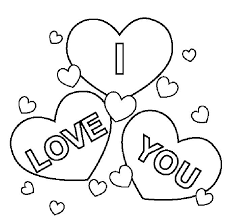I Love You Coloring Pages Superb