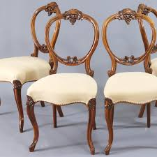 Finely Carved Quality Set Of Four Walnut Balloon Back Dining Chairs C.1845 Antique Victorian Ref No 03505 Regent Antiques Set Of Ten Mahogany Balloon Back Ding Chairs 6 Walnut Eight 62 Style Ebay Finely Carved Quality Four C1845 Reproduction Balloon Back Ding Chairs Fiddleback Style Table And In Traditional Living Living Room Upholstery 8 Upholstered Lloonback Antique French