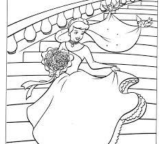 To Print Cinderella Coloring Book
