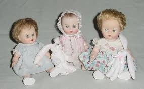 5 Baby Dolls From The Years 1950s60s Catawiki