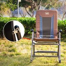 Timber Ridge Folding Lounge Chair by Timber Ridge Smooth Glide Lightweight Padded Folding Rocking Chair
