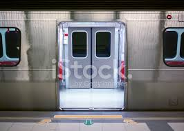 Subway Carriage Empty With Doors Open Stock s Free
