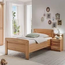 einzelbett nachtkommode in eiche sendician 2 teilig