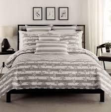 Tahari Home Bedding by Max Studio Stars Stripes Quilt Bedspread Full Queen 3pcs Set