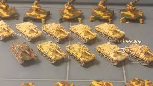 Painted Italian Axis And Allies Game Board Pieces