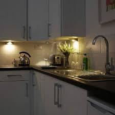 led cabinet triangle light mains kitchen cupboard l kit