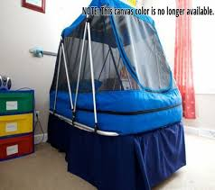 safety bed for autistic child crib tent how to keep the baby in