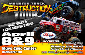 The Monster Truck Destruction Tour At Mayo Civic Center Bigfoot Monster Truck Trucks Stock Photos Jam Tickets Seatgeek Sthub 2013 Allmonstercom The Story Behind Grave Digger Everybodys Heard Of At Us Bank Stadium Mpls Dtown Council Old And New Usa1 Back 4x4 Official Site Show 5 Tips For Attending With Kids Ushra Challenge Minneapolis Metrodome 1998 Part 1 2019 Season Kickoff On Sept 18