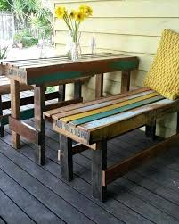 Pallet Garden Furniture Recycled Outdoor Sitting Out Of Crates Patio