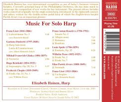various artists music for solo harp amazon com music