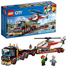 100 Lego City Tanker Truck Amazoncom LEGO Heavy Cargo Transport 60183 Building Kit 310