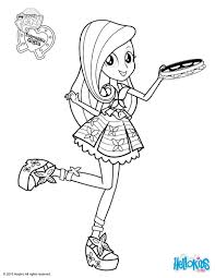 Fluttershy Coloring Page K92 My Little Pony Pages Rainbow Dash Equestria Girls