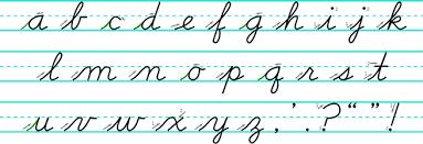 Cursive Letters Lowercase