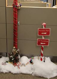 Funny Christmas Cubicle Decorating Ideas by The Office Holiday Pole Decorating Contest Mid Century Modern