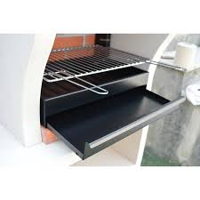 barbecue cuisine wildon home napoli outdoor kitchen combo bbq and wood fired pizza