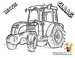 Dessin Tracteur A Imprimer Facile Coloriage Tracteur Et Remorque