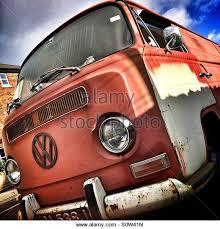 Rusty Old VW Camper Van