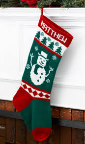 Frosty Snowman Christmas Tree by Wool Christmas Stocking Frosty Snowman Character Series