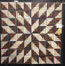Inspiration Star Log Cabin quilt by Wendy J Thompson This can be