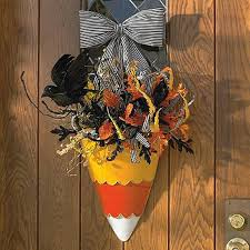 Grandin Road Halloween Wreath by 50 Decorating Ideas And Adornments For Halloween Family Holiday