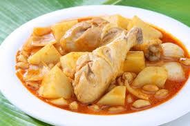 cuisine thailandaise recettes recette de poulet thaï au curry massaman chef jevto bond